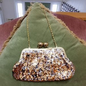 Sequined Evening Bag